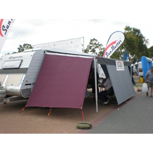 End Walls FRONT – Full Size caravans – X-demo Stock